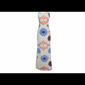 Hunter Dixon Aztec Maxi dress